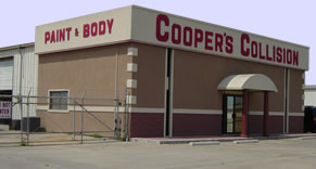 Coopers Collision Store Front